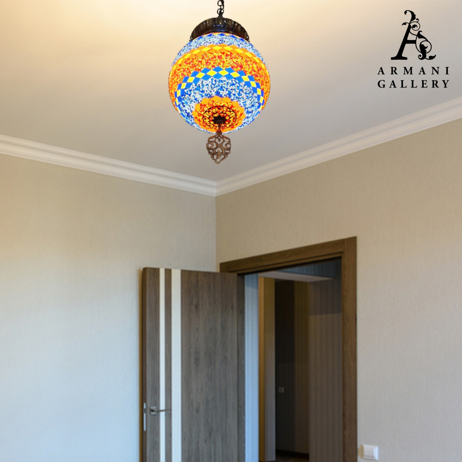 Buy Turkish Ceiling Chandelier SR-1107
