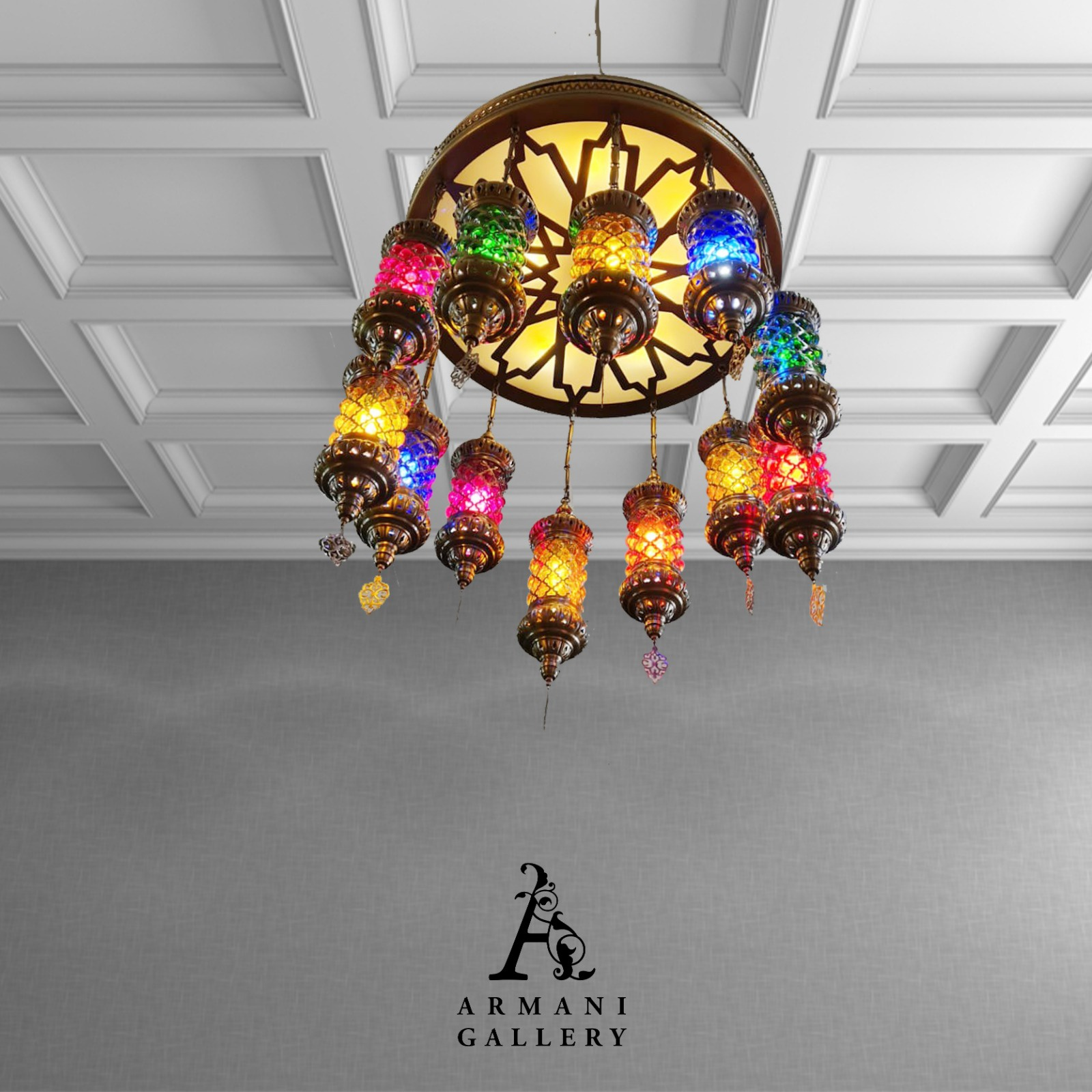 Buy Turkish Ceiling Chandelier SR-1114