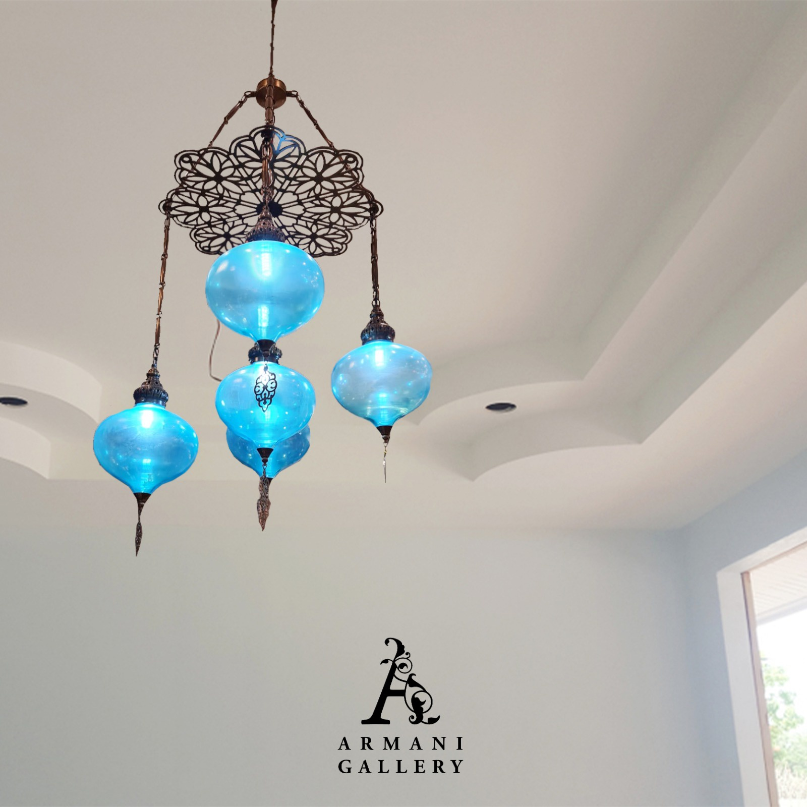 Buy Turkish Ceiling Chandelier SR-1112