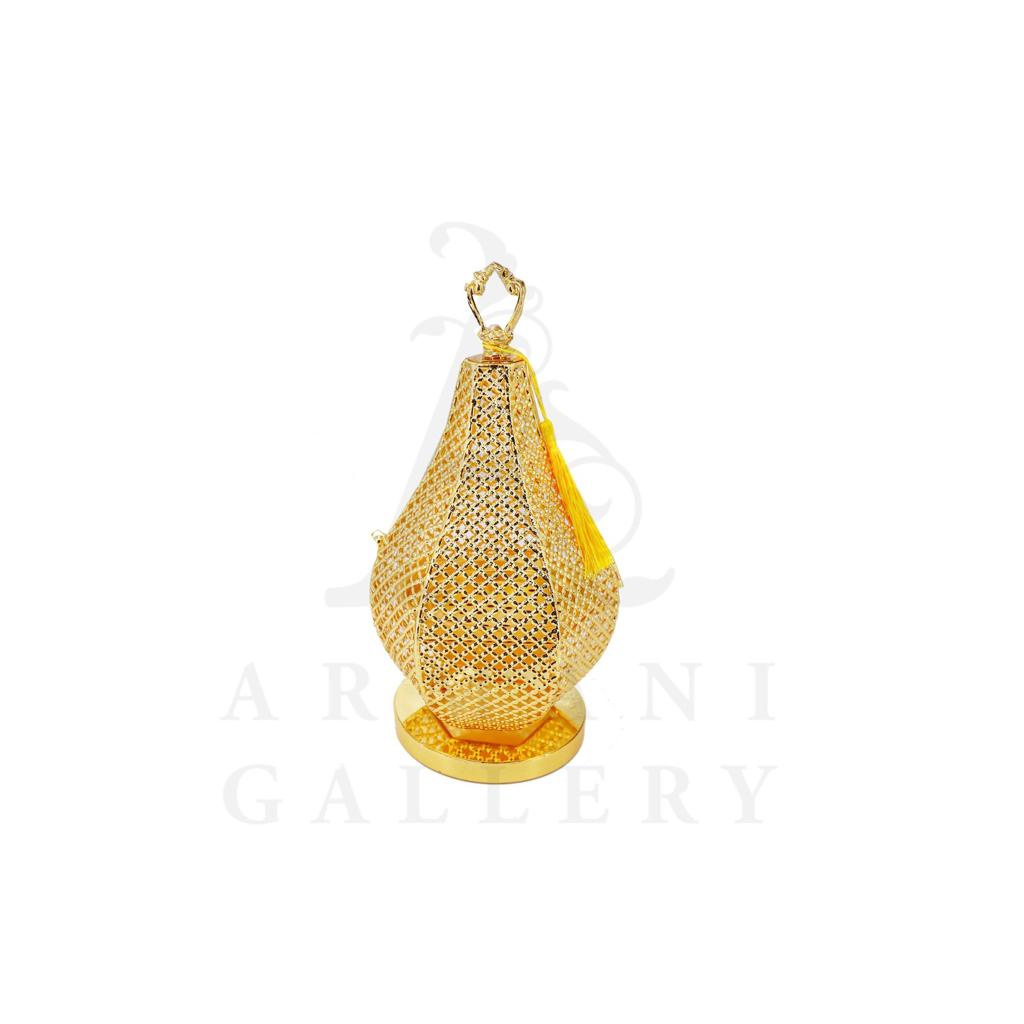 Buy Incense Burner Gold Round - Small 12.5x12.5