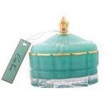 Buy Art Deco Candle - Tiffany Blue