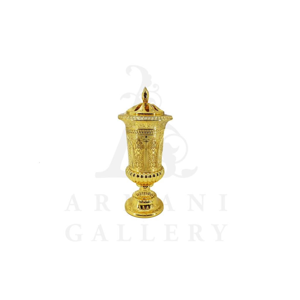 Buy Incense Burner Small Slim - Gold