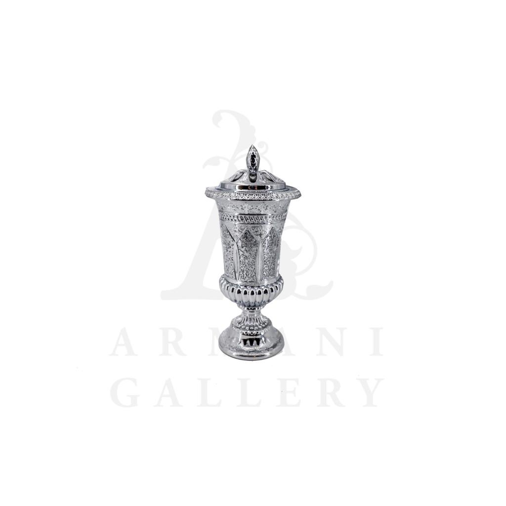 Buy Incense Burner Small Slim - Chrome
