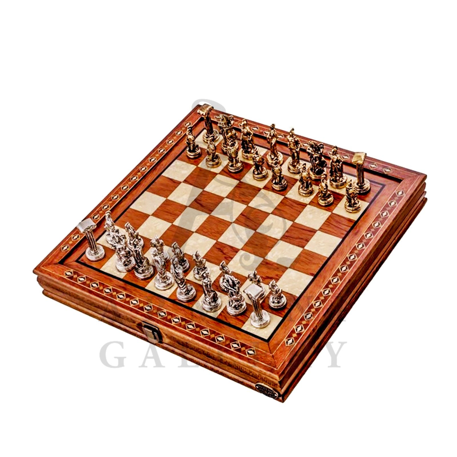 Buy Mozaic Hero Chess Set with Checkers 2616.ROS