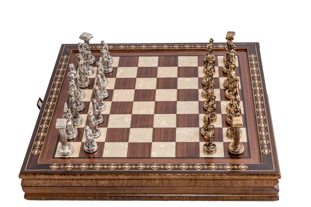 Buy Mozaic Hero Chess Set with Checkers 2616.WAL