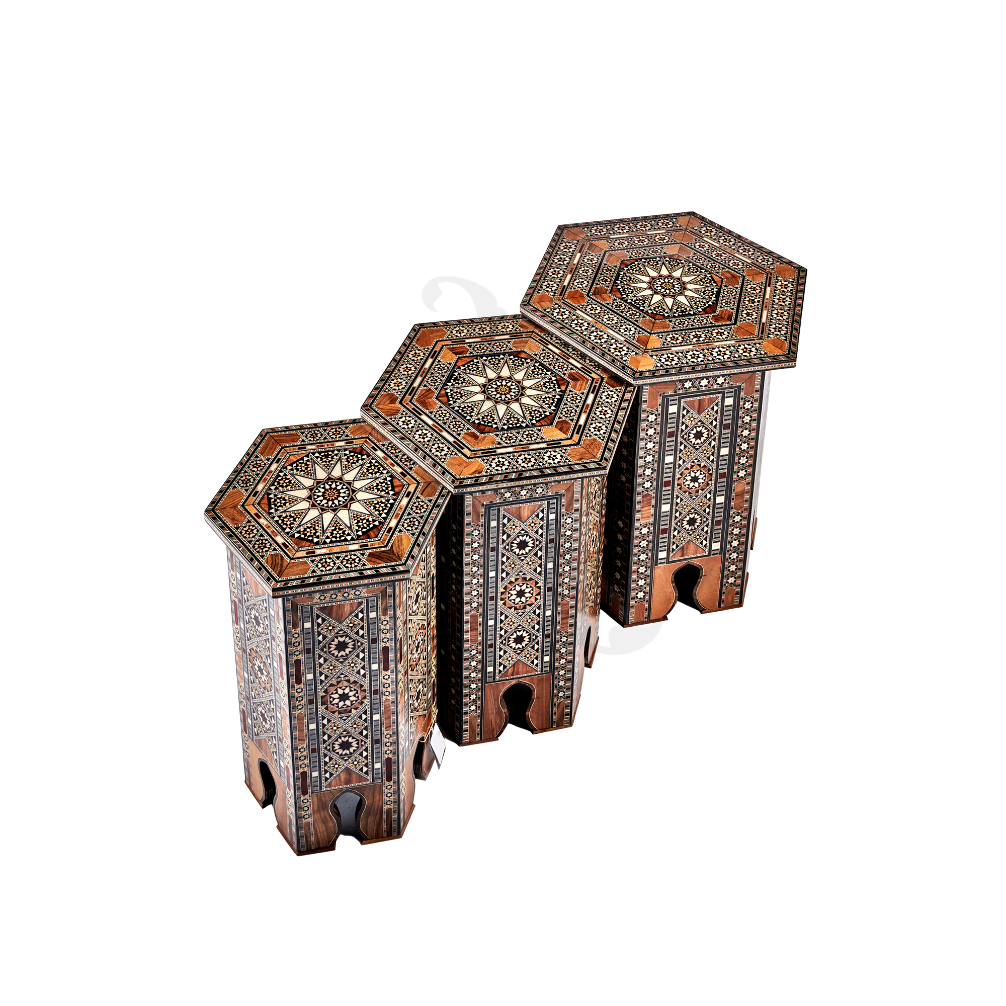 Buy Set of 3 Moroccan Tables