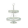 Buy 2 Tiers Delight Serving Stand - Gold Model 1