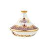 Buy Victoriana tajine dessert server with decal - Purple