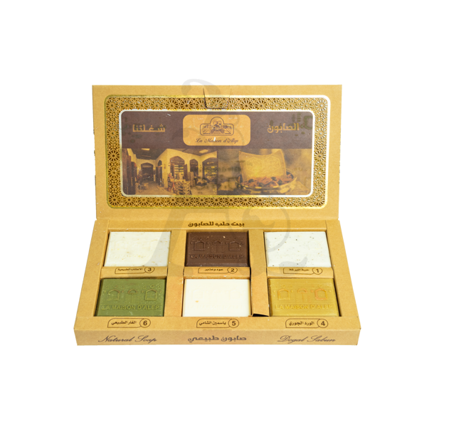 Buy La Maison Natural Soap Set 6 Pieces (710gm)