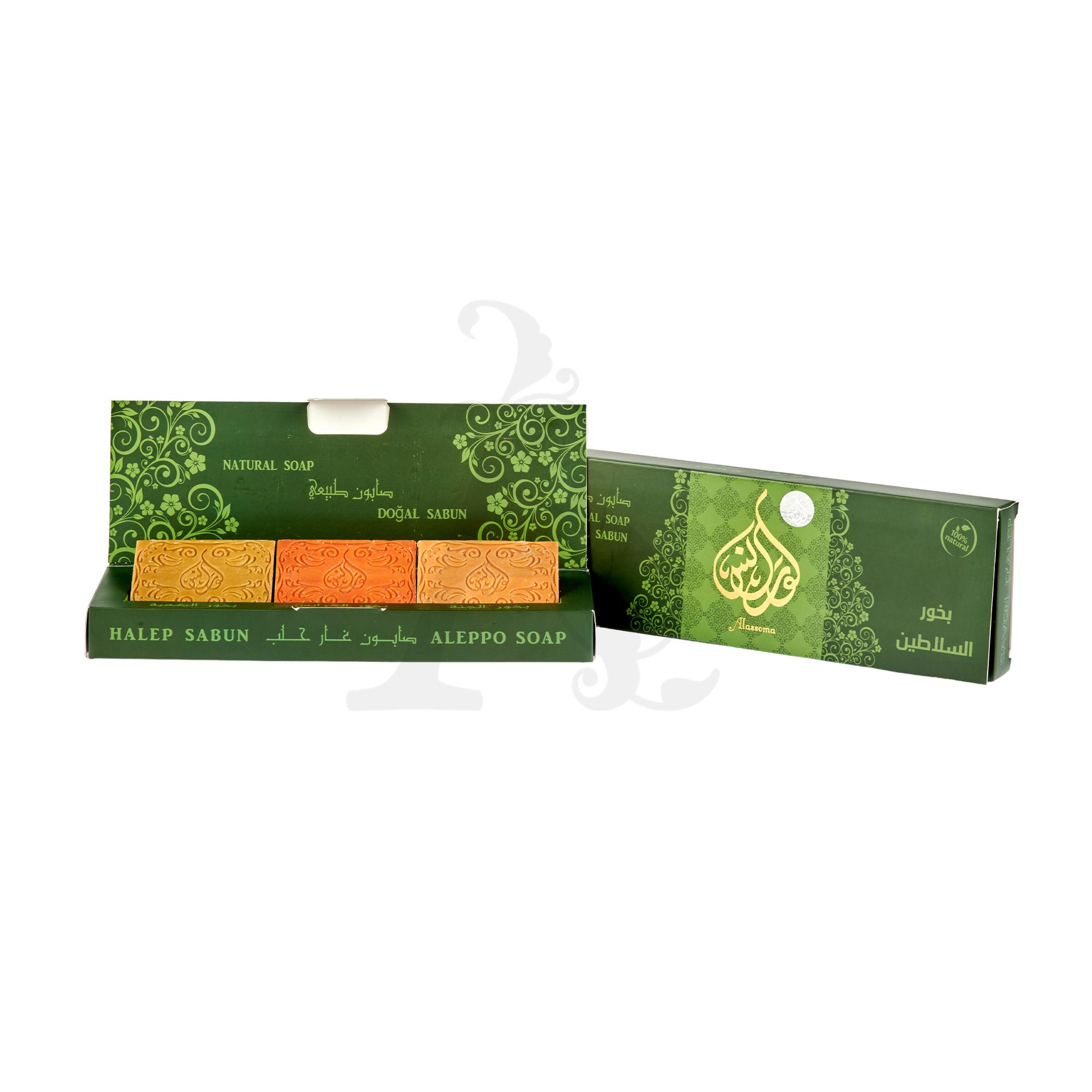 Buy Alassoma Natural Soap Set - Green