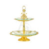Buy 2 Tiers Delight Serving Stands - Silver Model 2