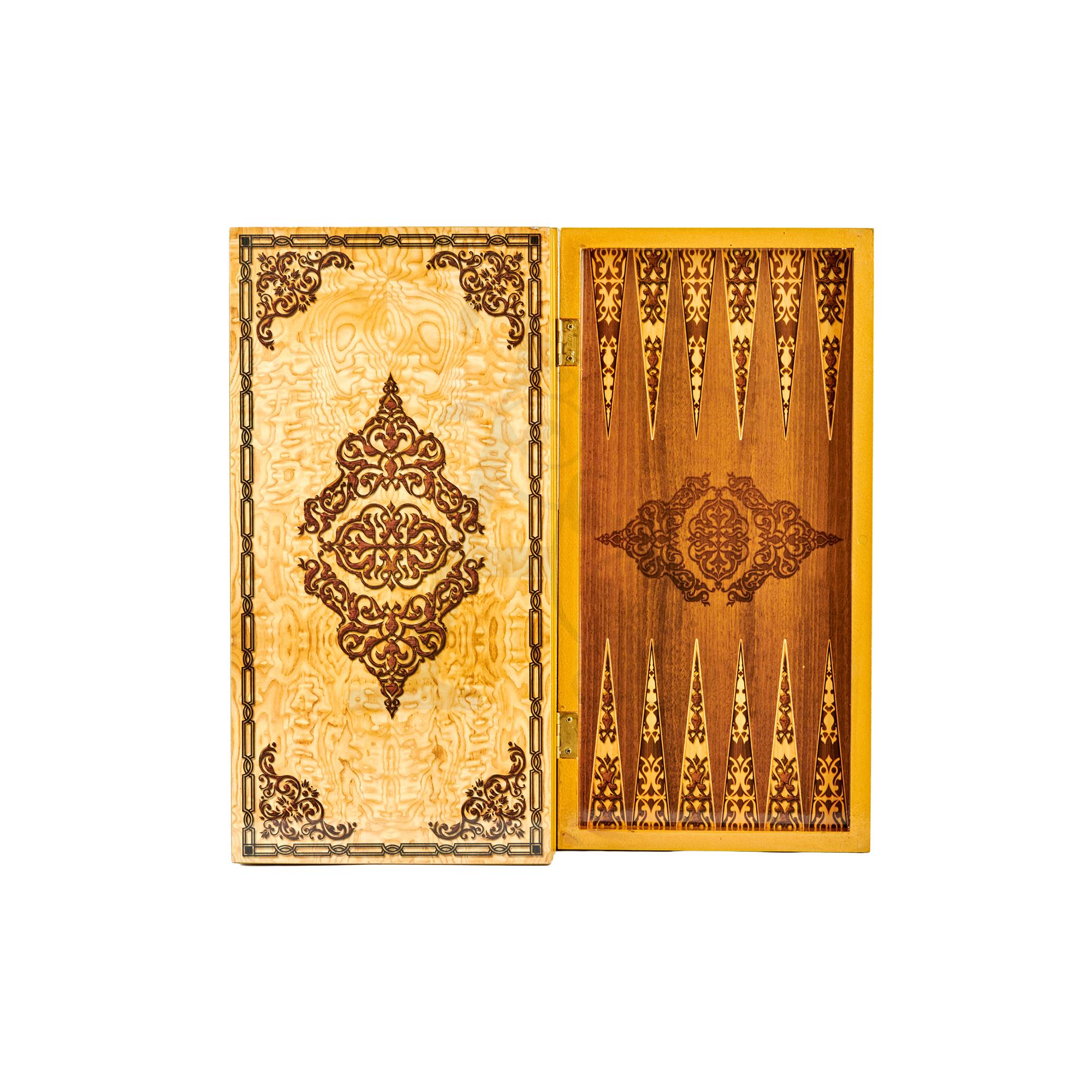 Buy Eser Elegance Decorative Backgammon Motif 2