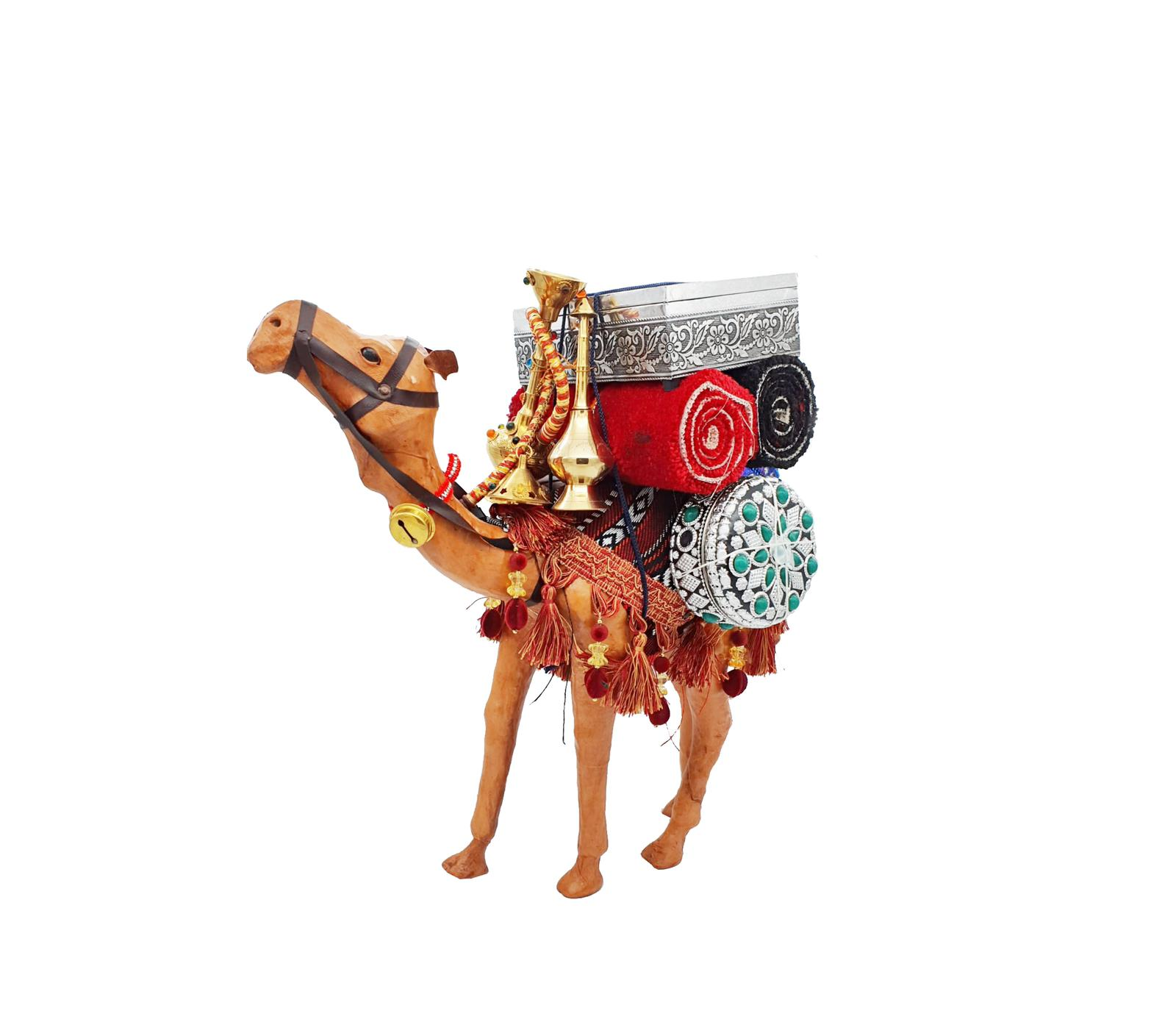 Buy Camel with Supplies Handmade - 120cm