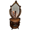 Buy Traditional Wooden Mirror Stand with Draws New