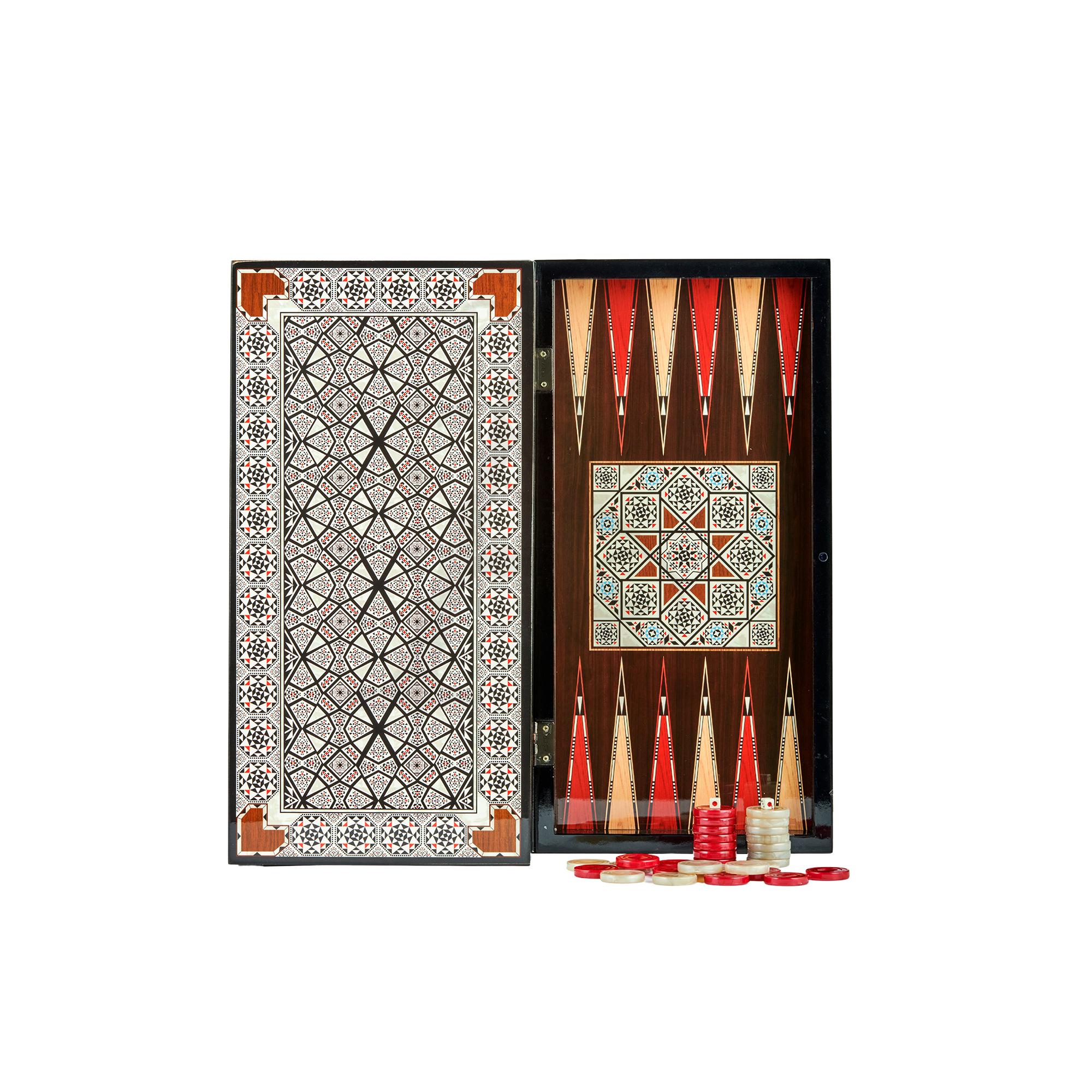 Buy Eser Elegance Backgammon Star Pearl Set