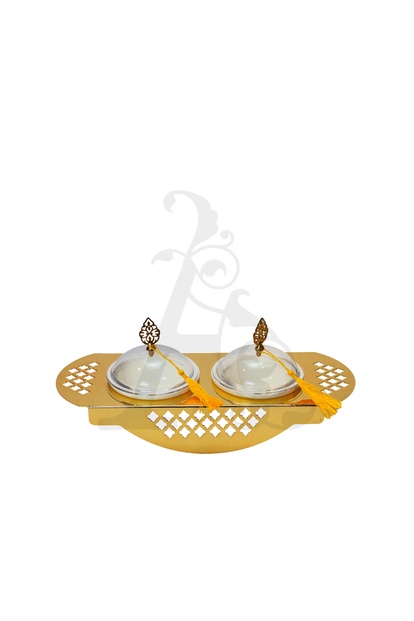 Buy Delight Servers 2 Pieces Gold and White 40x20.5