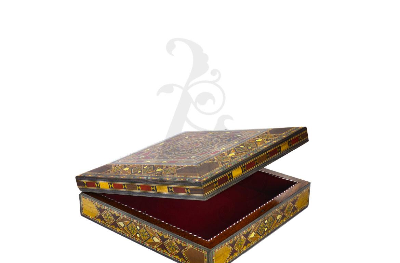 Buy Square Jewellery Box - Large (22 x 22 x 7 cm)