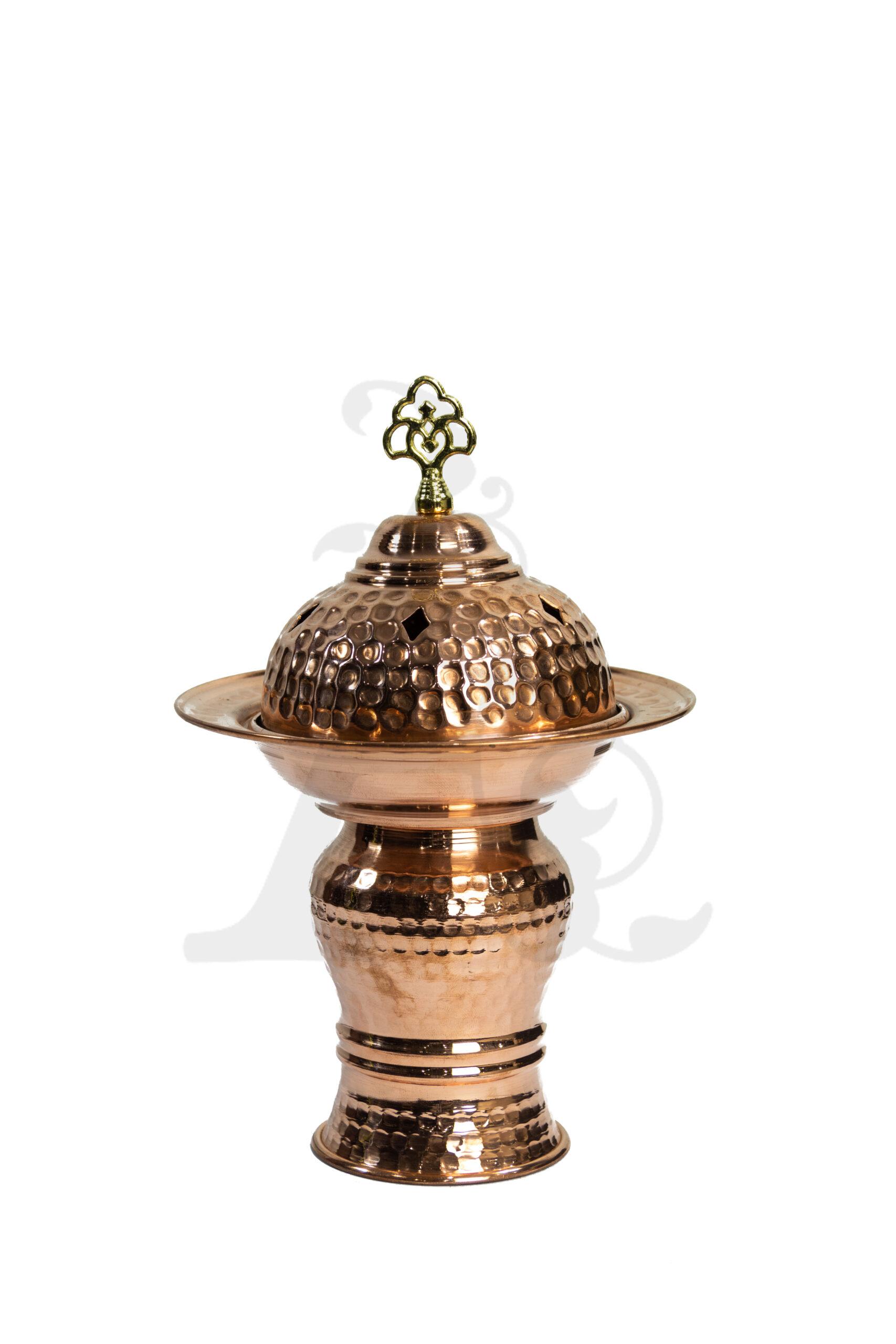 Buy Incense Burner - Copper (Rose) Large