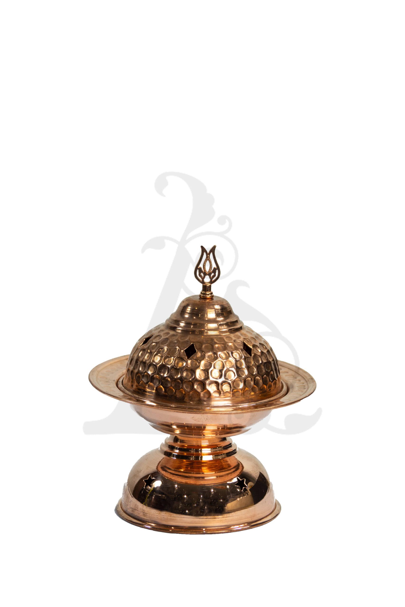 Buy Incense Burner - Copper (Rose) Medium