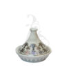 Buy Victoriana sugar pot with cover - Gold 2