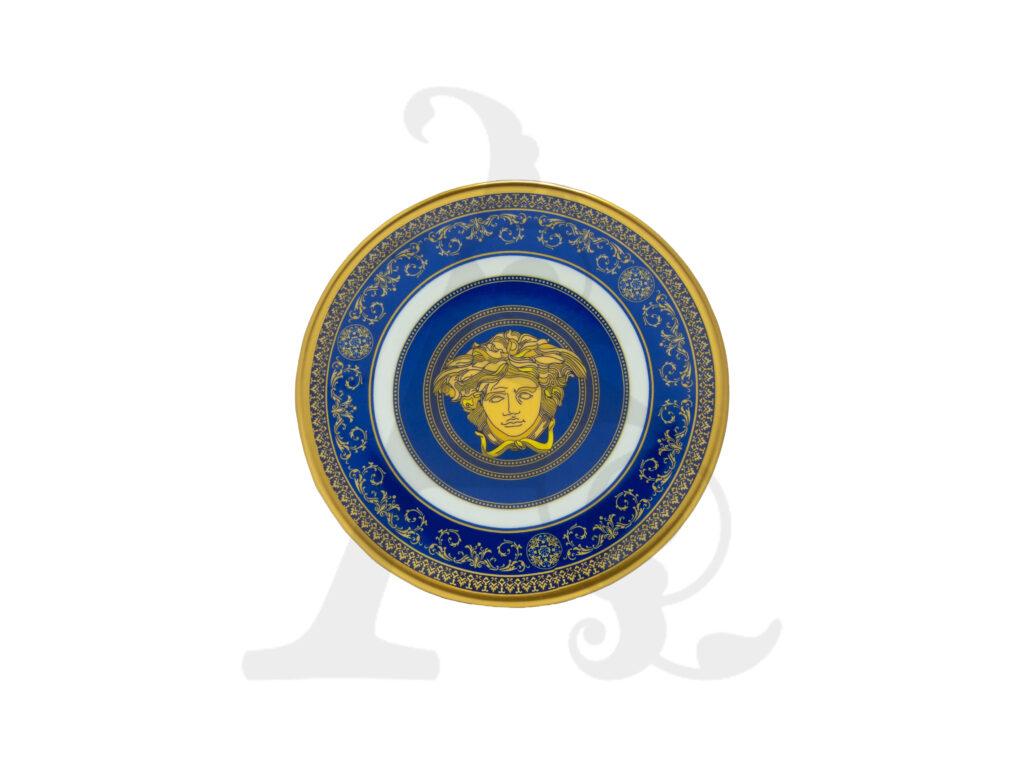 Buy Set 6 small plates and 6 big plates (12 Pcs) - Ceramic - Assorted Colors