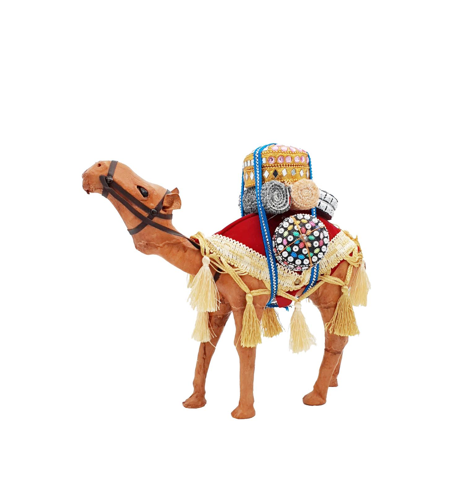 Buy Camel with Supplies Handmade - 29cm