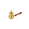 Buy Gold Moroccan Coffee Pot with Lid - Medium