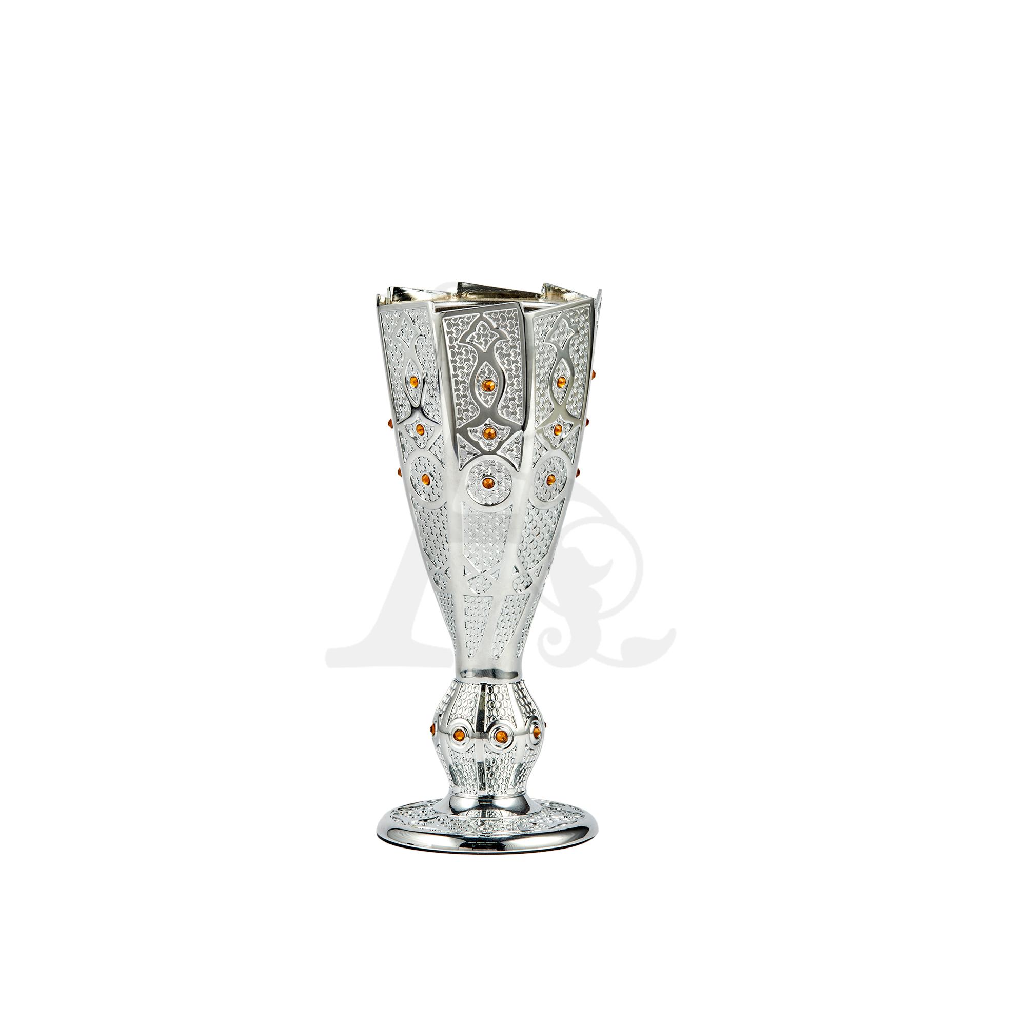 Buy Incense Burner Big Trophy - Chrome