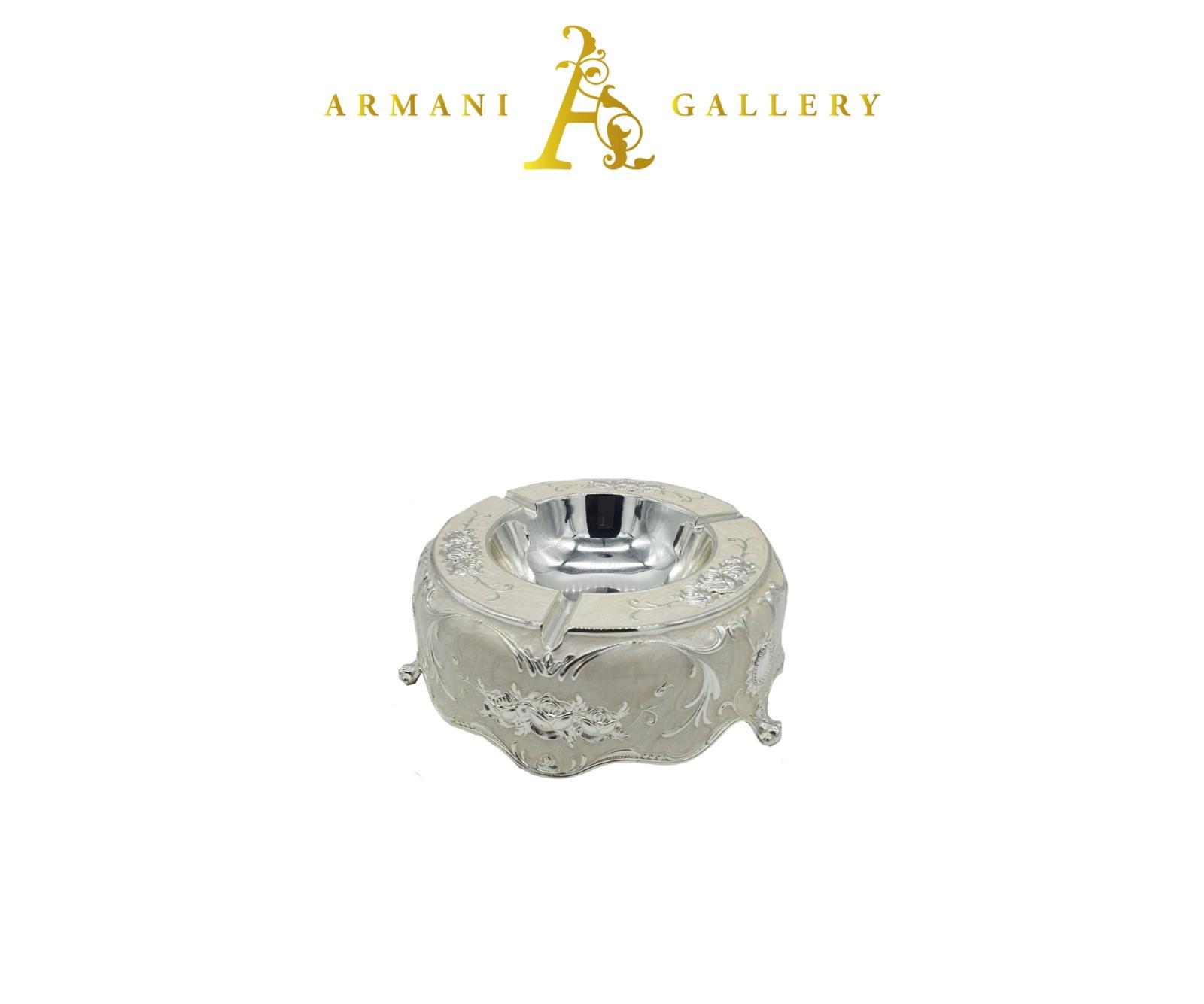 Buy Ornament Ashtray - Silver