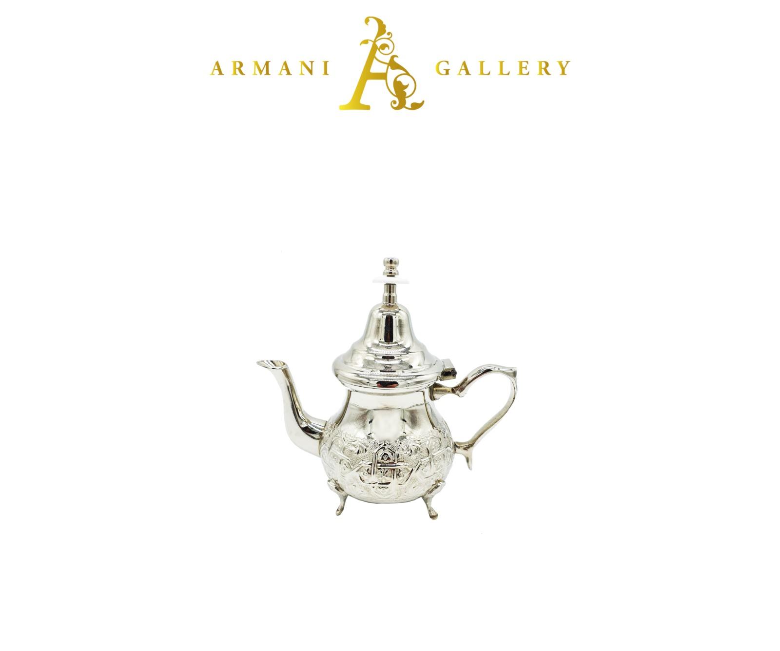 Buy Moroccan Silver Tea Pot - Large