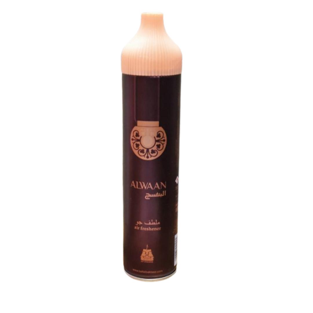 Buy Air Freshener Alwaan Purple 300Ml