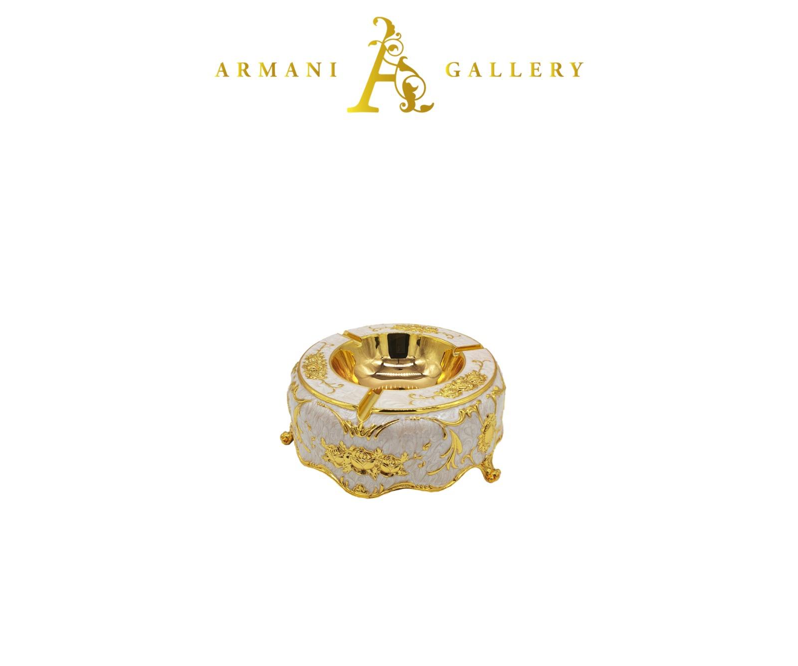 Buy Ornament Ashtray - Gold