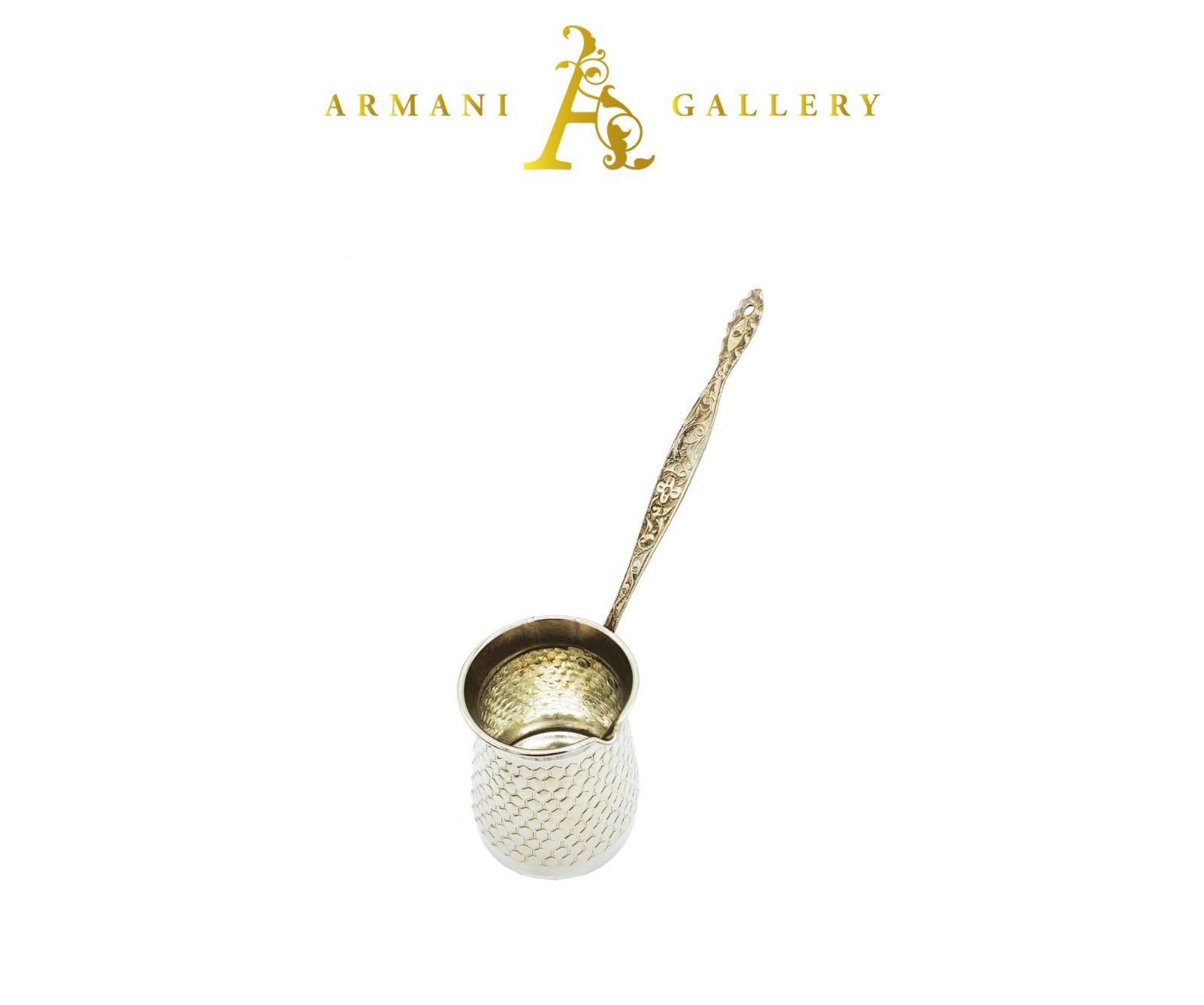 Buy Silver Copper Coffee Pot - Small